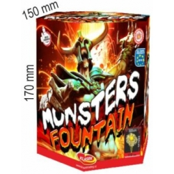 Monsters fountain