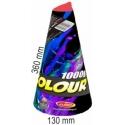 Vulkán 1000g farebné hviezdy