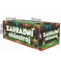 Záhradný ohňostroj 128 rán / 30mm I+Fan+V+W