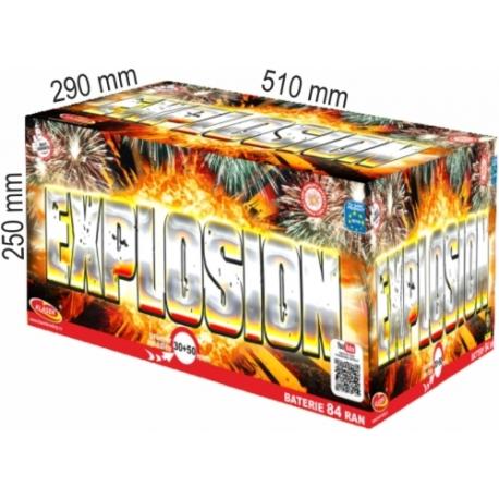 Explosion  84 rán multikaliber