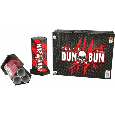 Dumbum triple 20 mm