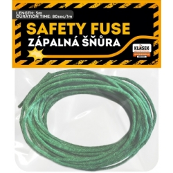 Zápalná šnúra zelená 2mm x 5m