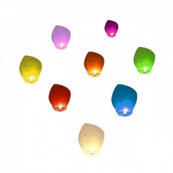Lampión šťastia - 7 farieb