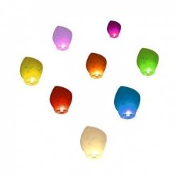 Repülő lampion 9 szín