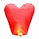 Lampión šťastia - srdce