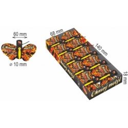 Ohnivý motýľ - Tüzes pillangó
