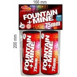 Fontána + mína 75mm