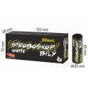 Stroboskop biely