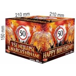 Všetko najlepšie k narodeninám 49 rán / 25mm