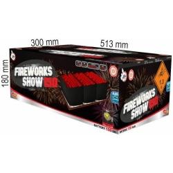 Fireworks show 150 rán multikaliber