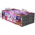 Fireworks show 200 rán multikaliber, F2