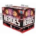 Heroes  -  fontána + kompakt 40 rán multikaliber