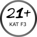 Ohňostroje kaliber 25mm kategória F3