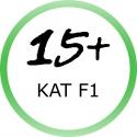 Vianočné prskavky - kategória F1